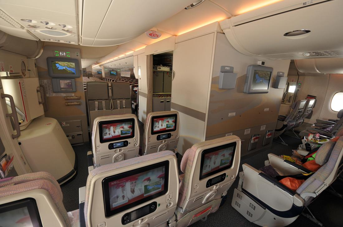 The gallery for emirates a380 economy class for Airbus a380 emirates interior