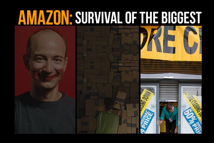 Amazon Series 3 Survival Of The Biggest Safety Space