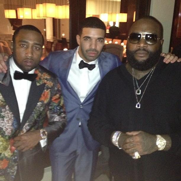 P. Diddy hosts NYE party