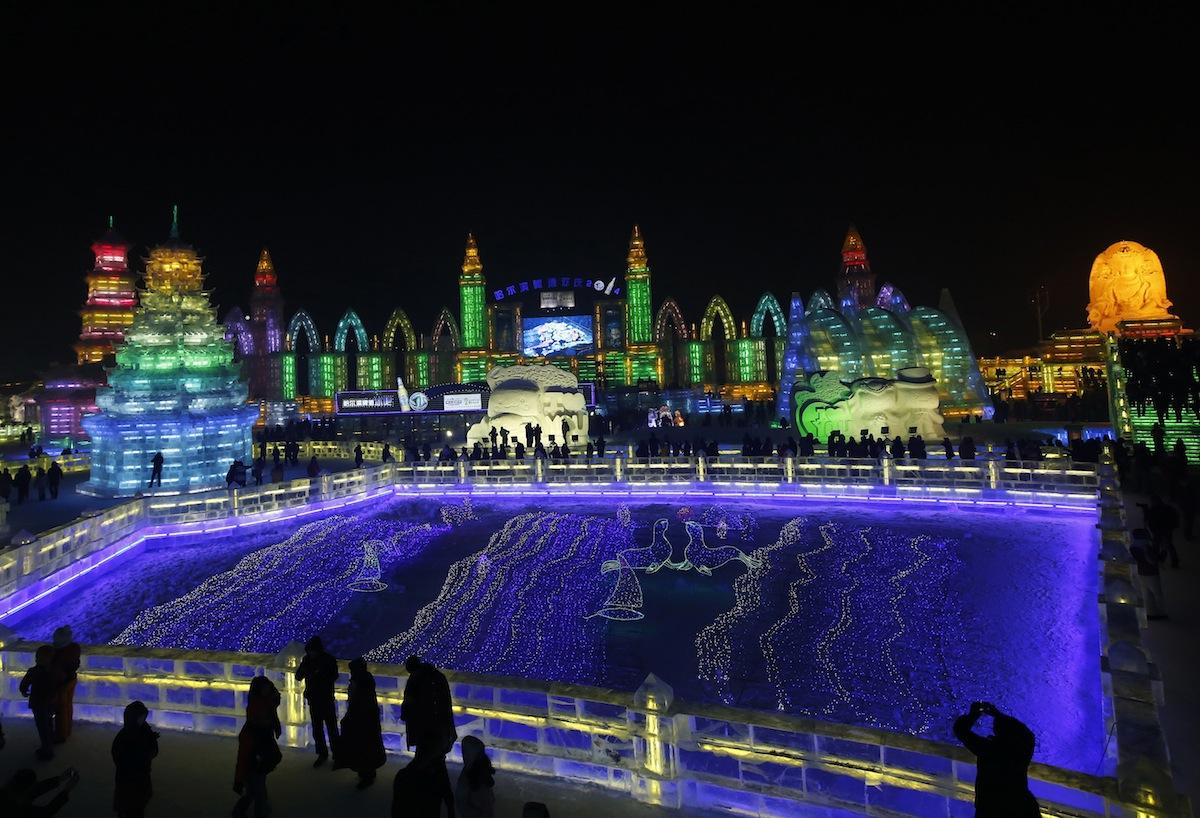 Harbin Ice Festival 2014 photos