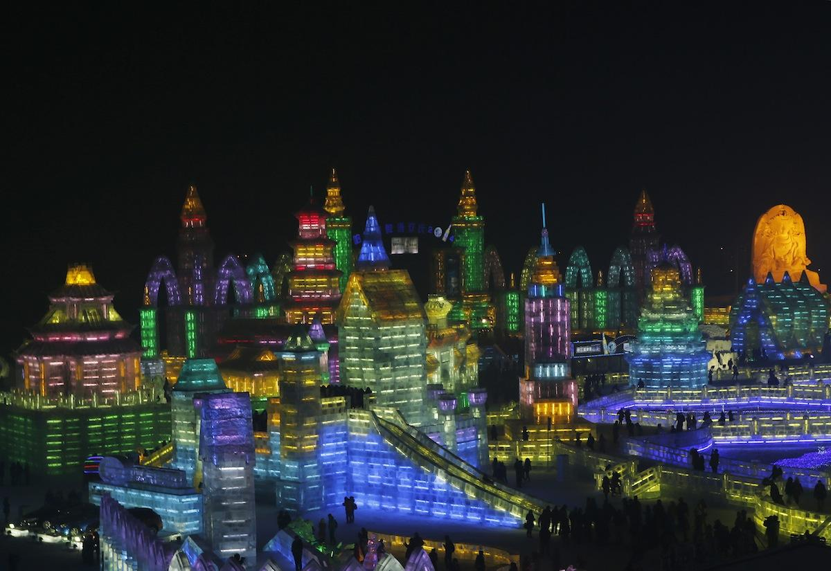 Harbin Ice and Snow Festival 2014