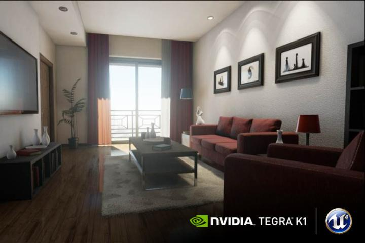 Nvidia Tegra K1 Unreal Engine 4 Project Logan CES 2014