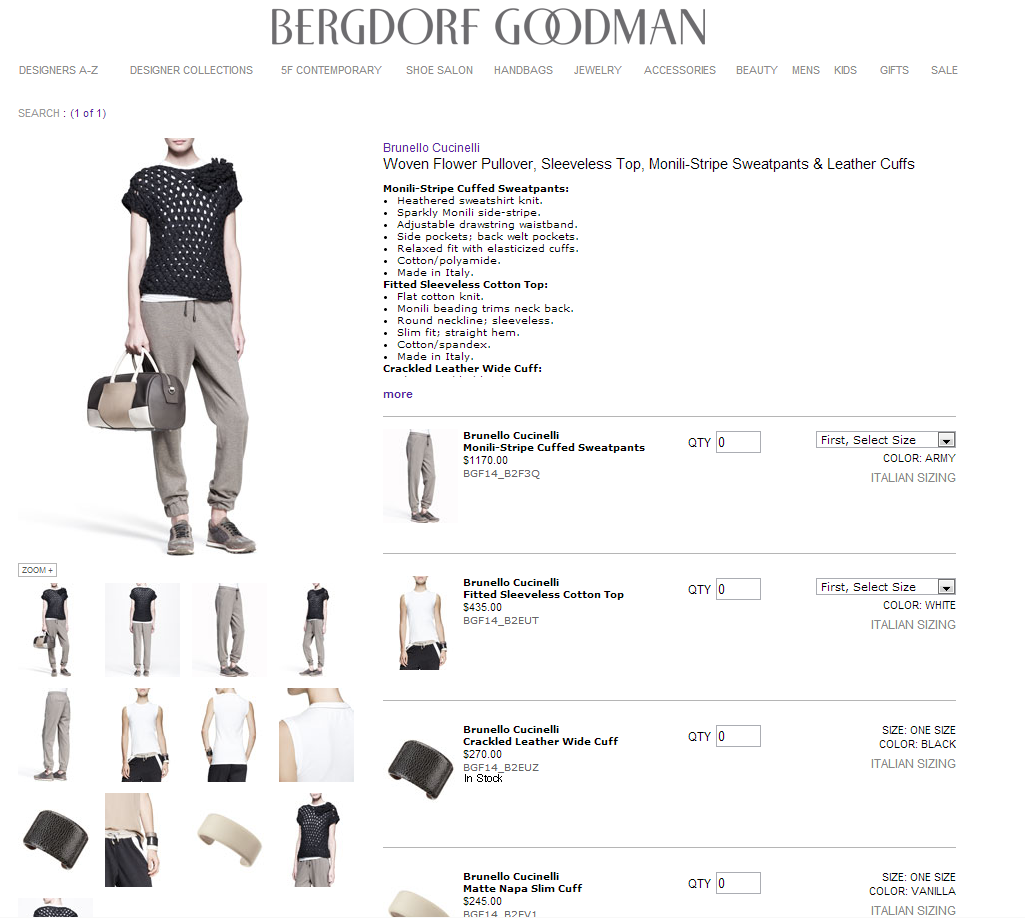 These Cotton Sweatpants Cost $1,170 At Bergdorf Goodman