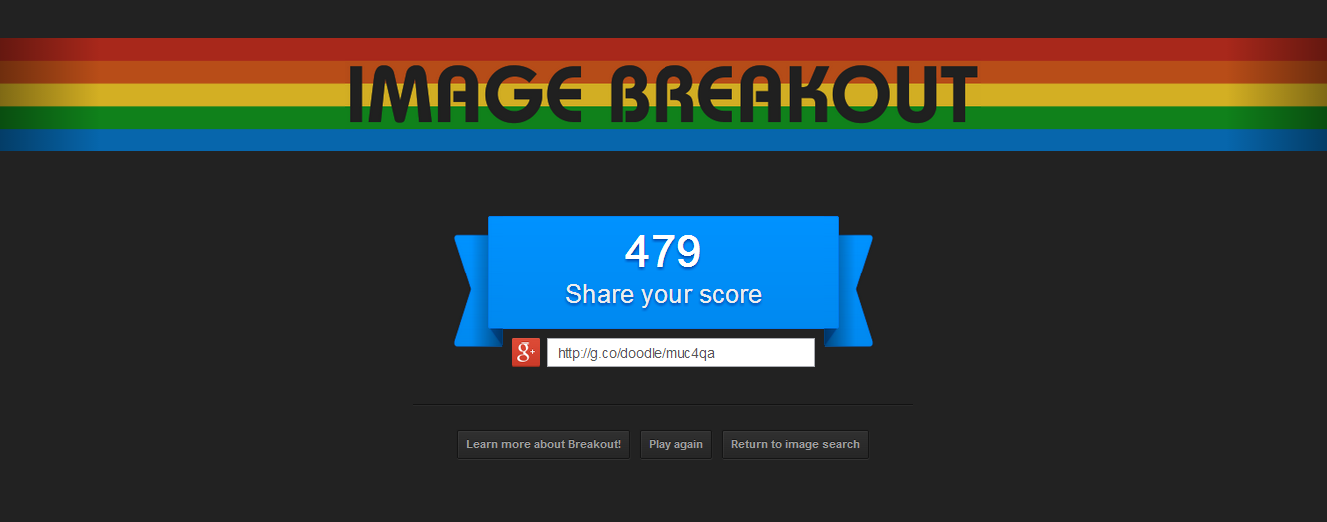 Google Atari Breakout Latest Easter Egg Transforms Image
