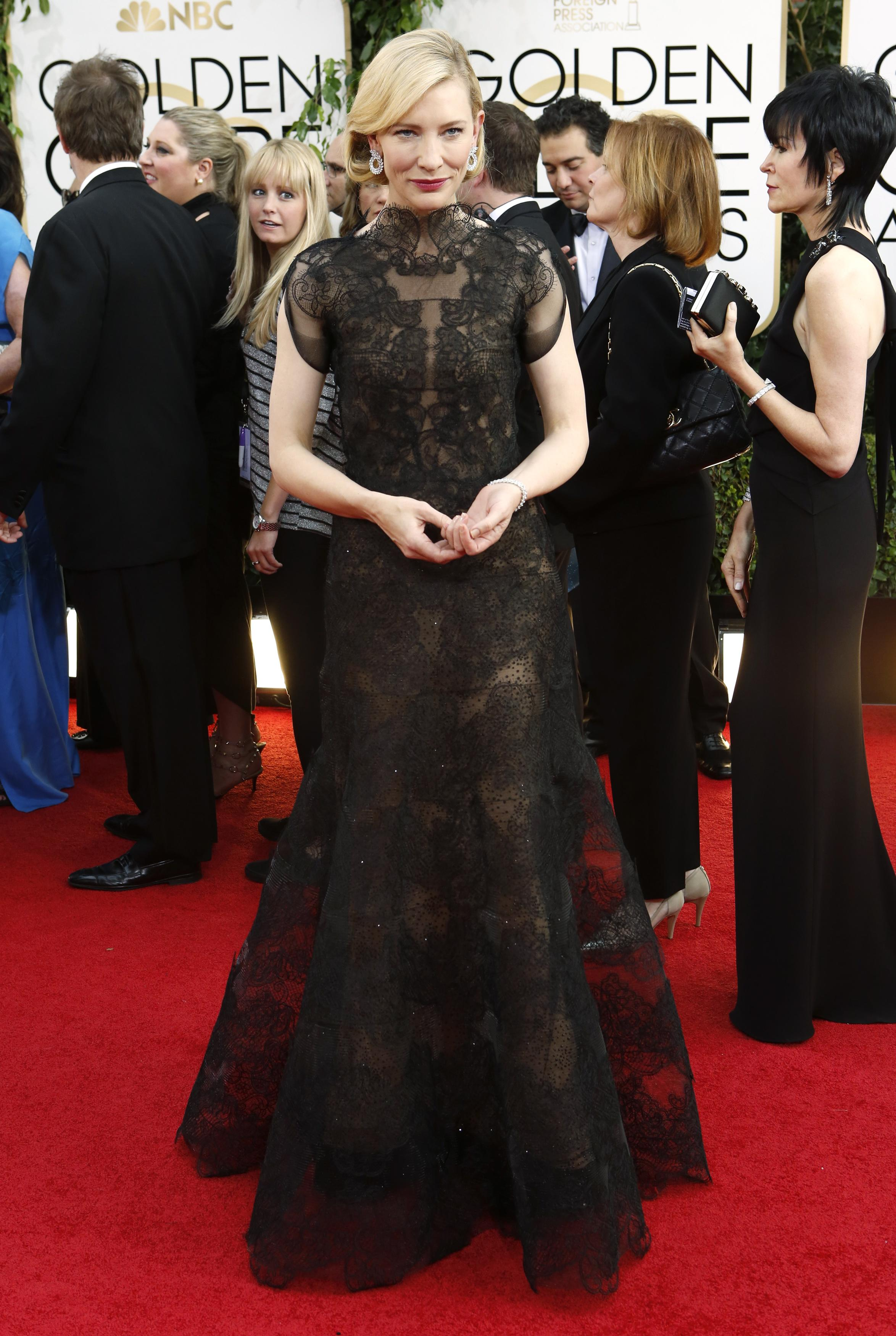 Golden Globes 2014 Red Carpet Recap