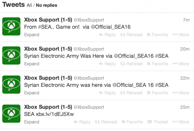 Xbox Twitter Account Hacked By SEA