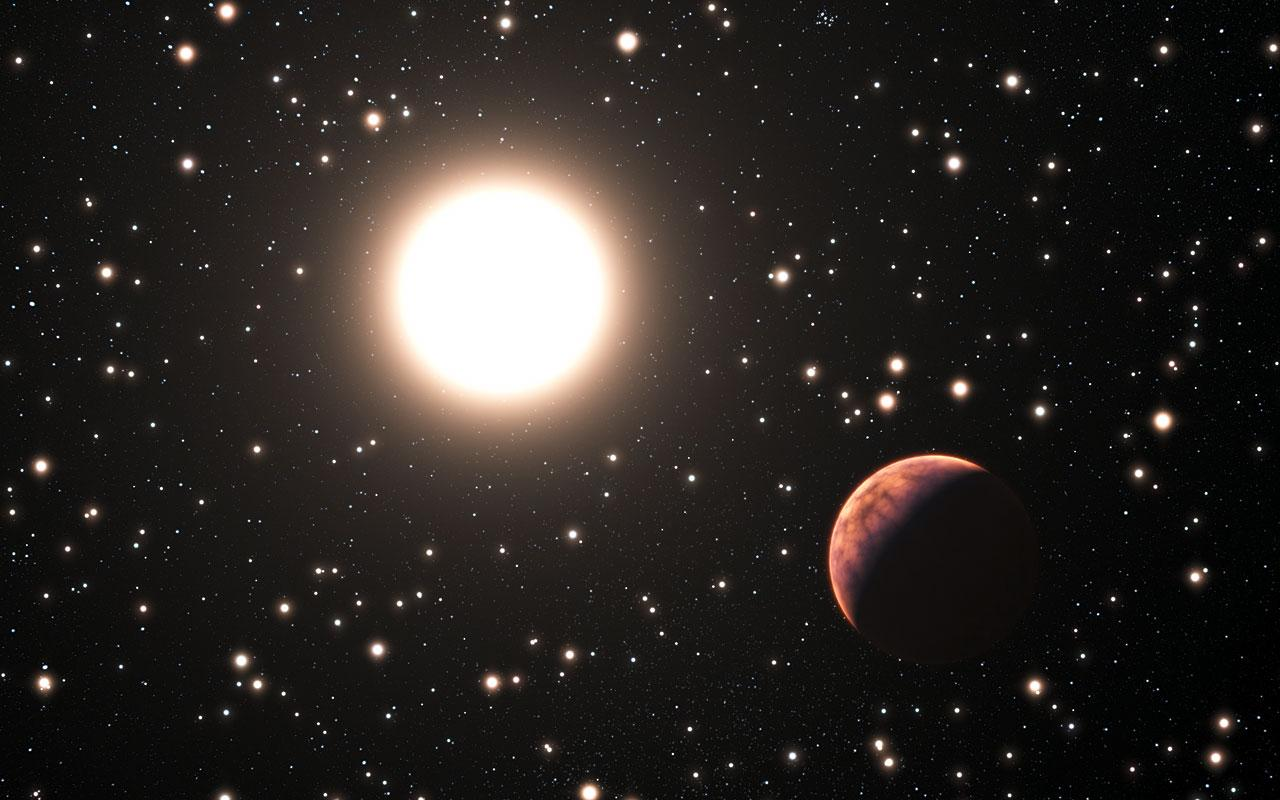 Exoplanet Orbiting Solar Twin