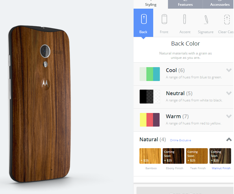 Moto X Wood Finishes Moto Maker Motorola Wood Backs Release Date Price Cost Customize