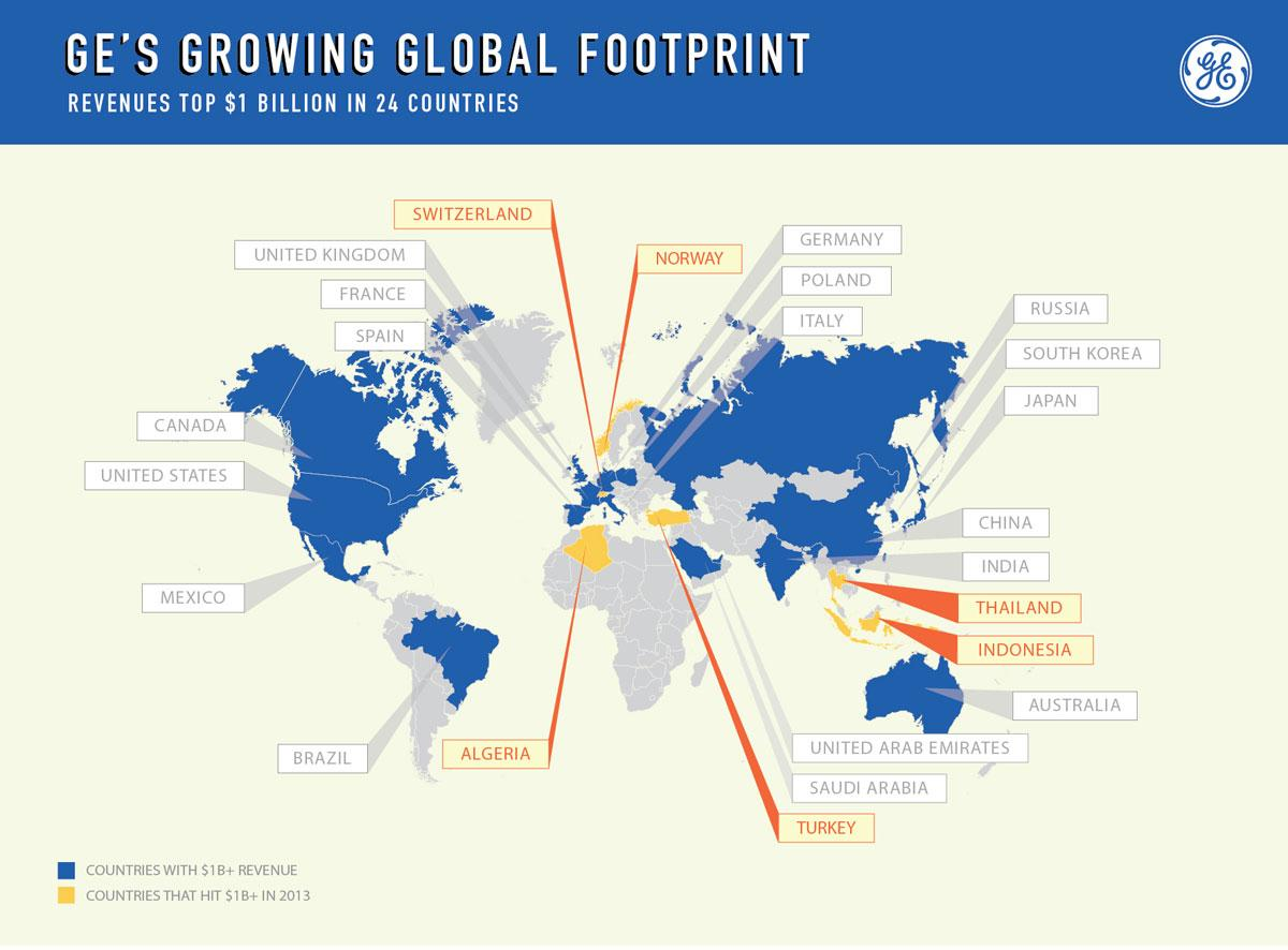 GE Grows Its Global Footprint, GE Website Jan 17 2014