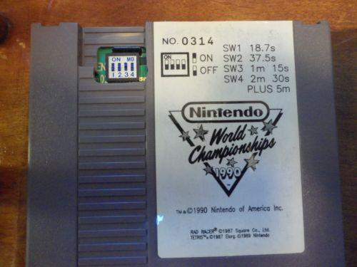 NES World Championship Cart