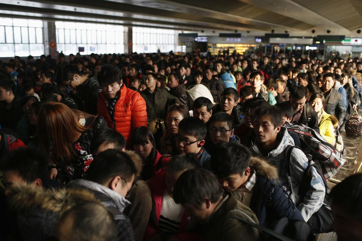 Lunar New Year Travel Rush