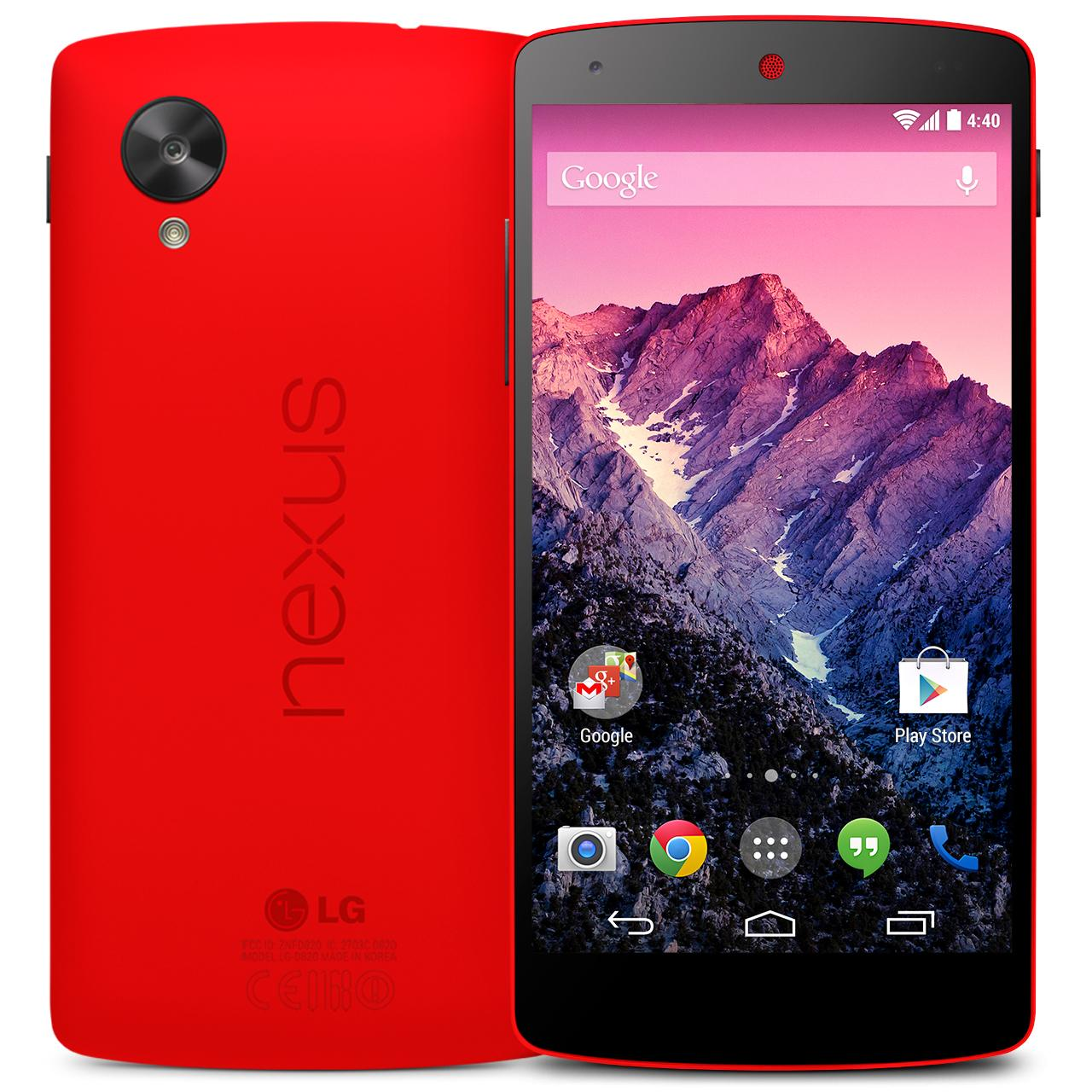 Google LG Nexus 5 Red Release Date Price Cost
