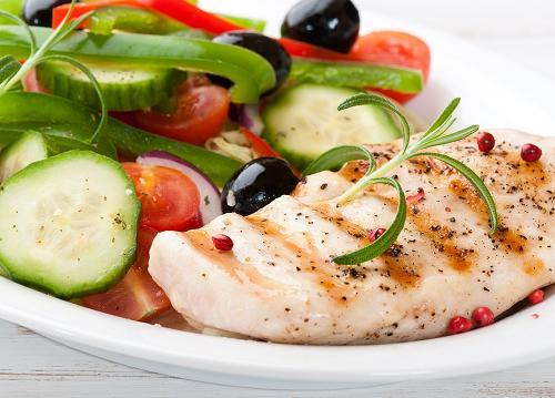 Chicken and vege by Shutterstock 2