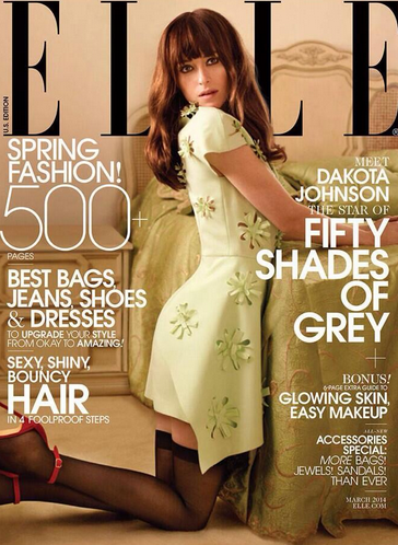 Dakota Johnson Elle Magazine Cover