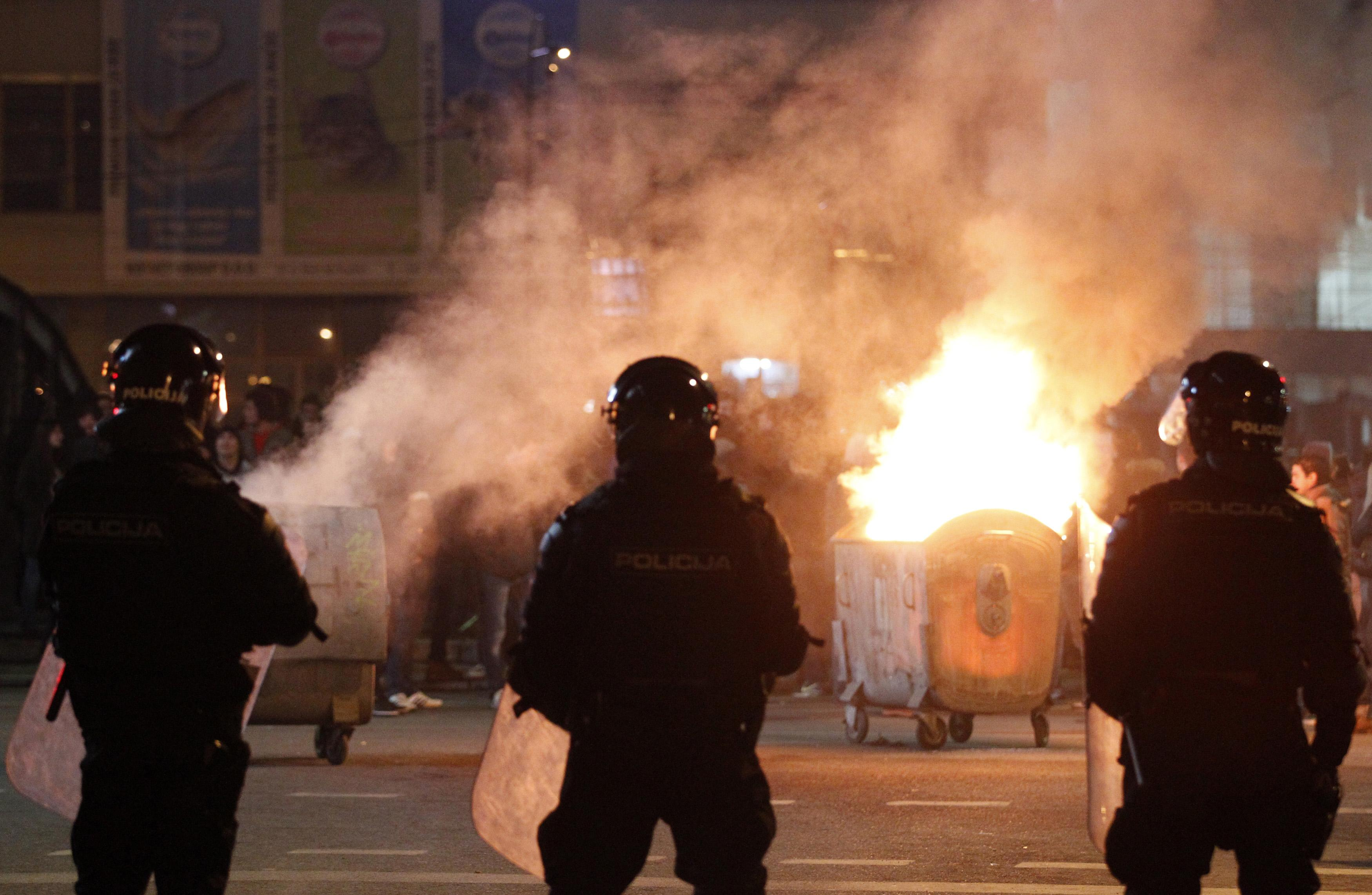 Bosnia civil unrest protests