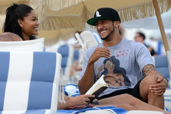 Kaepernick dating sanaa lathan