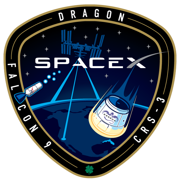 SpaceX Commercial Resupply MissionPatch