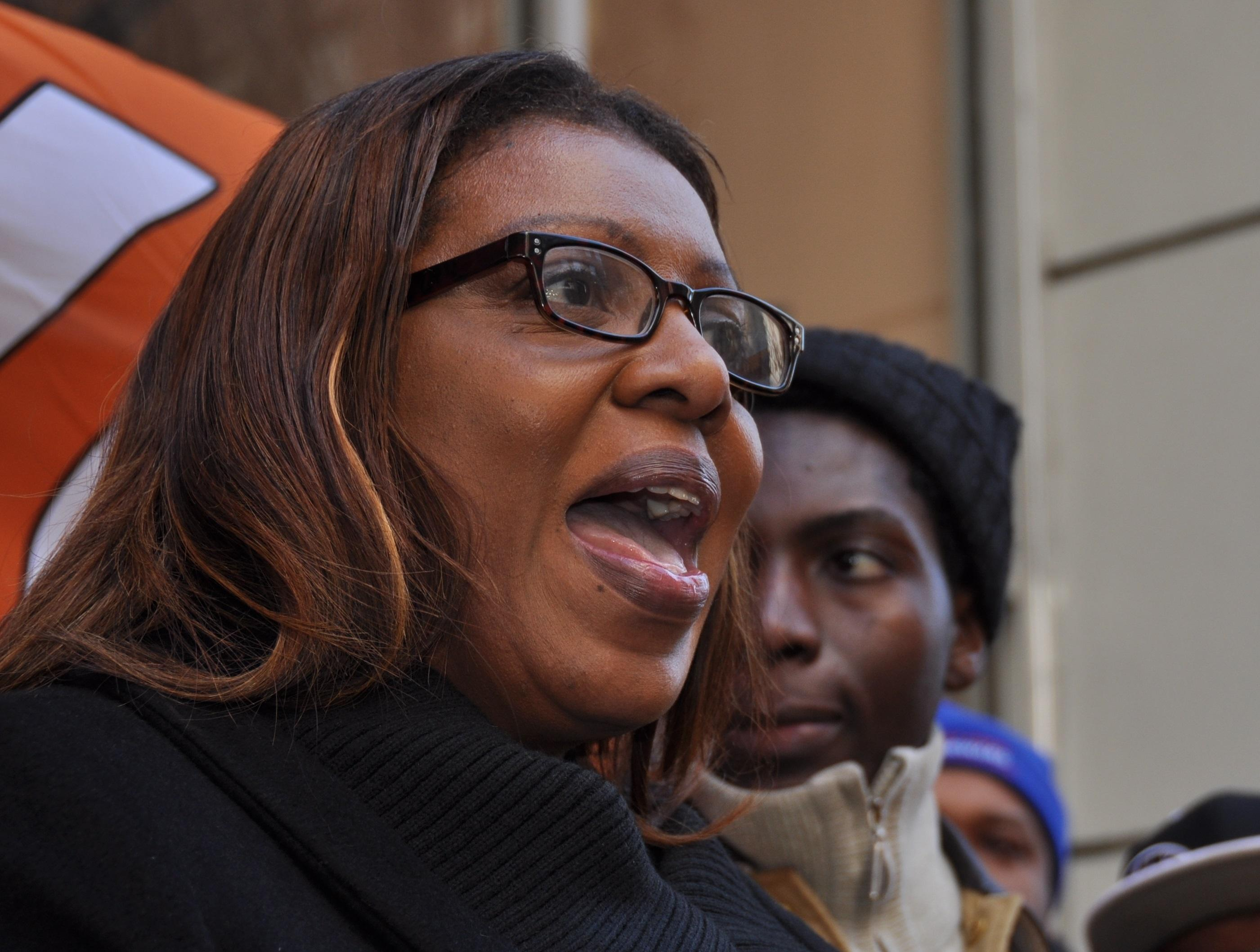 NYC Public Advocate Tish James