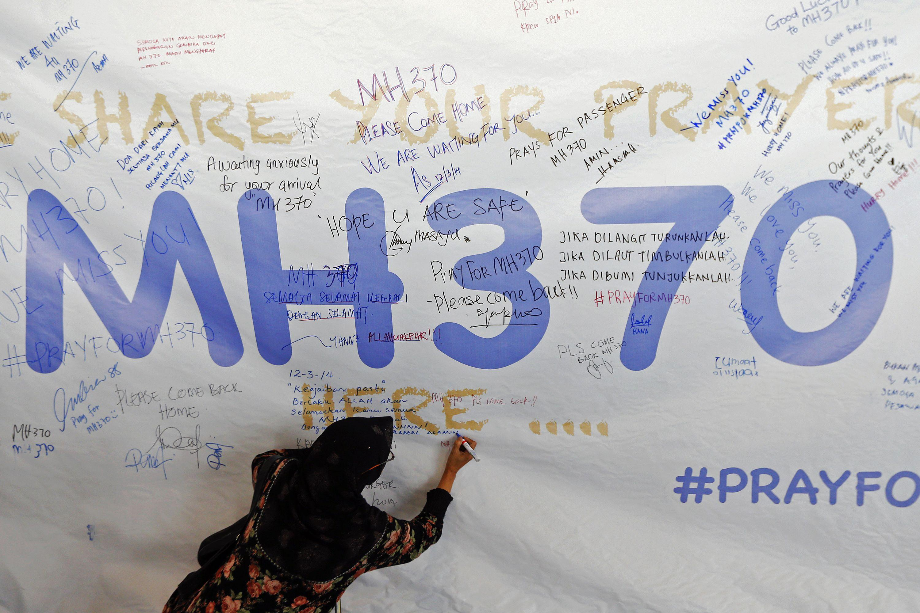 malaysia mh370 artwork March 12 1