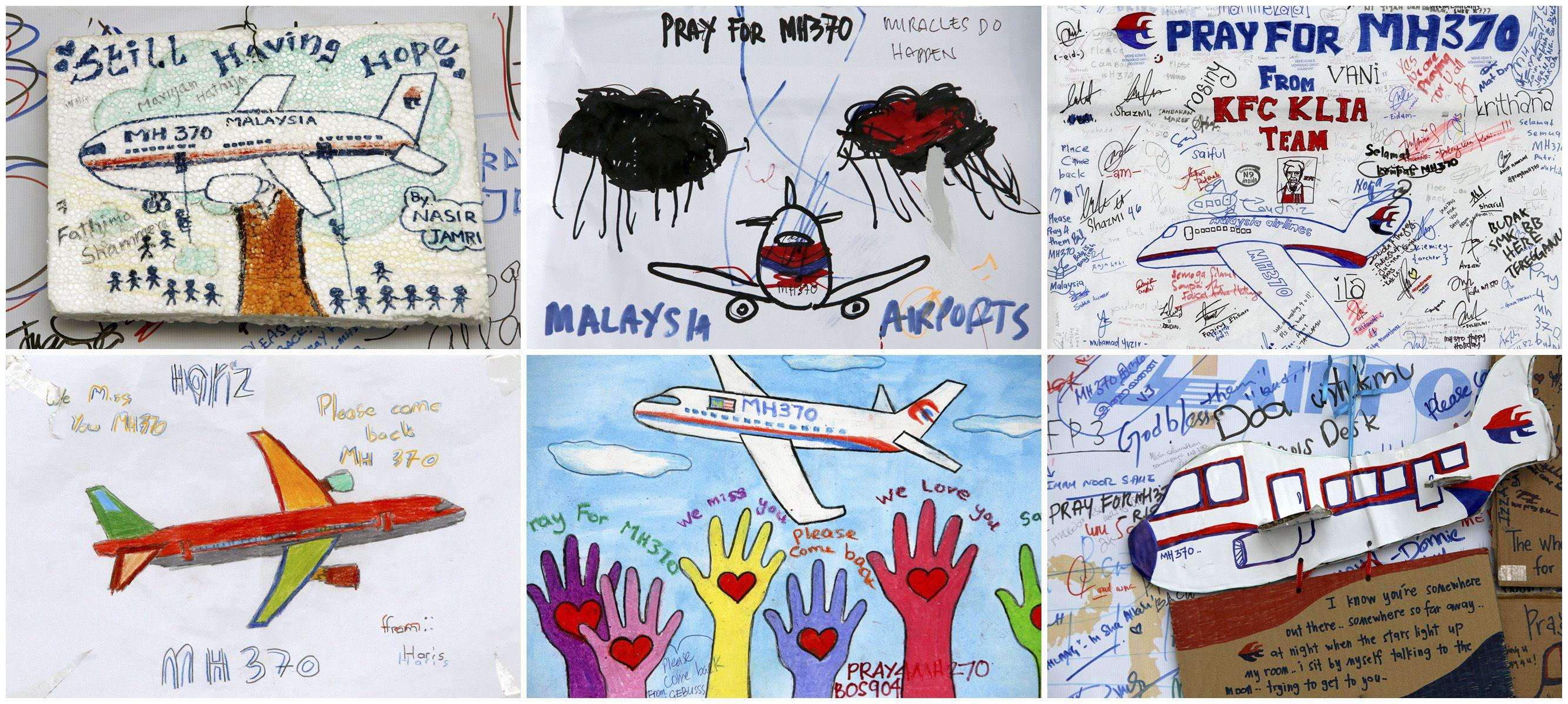 malaysia mh370 artwork March 19 2