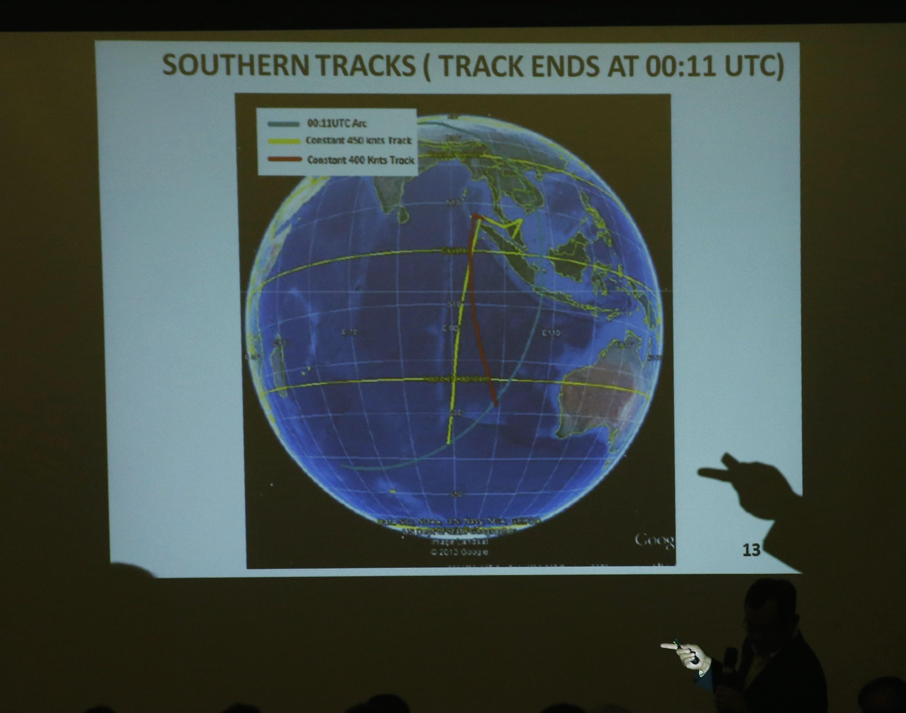 MH370 Satellite briefing