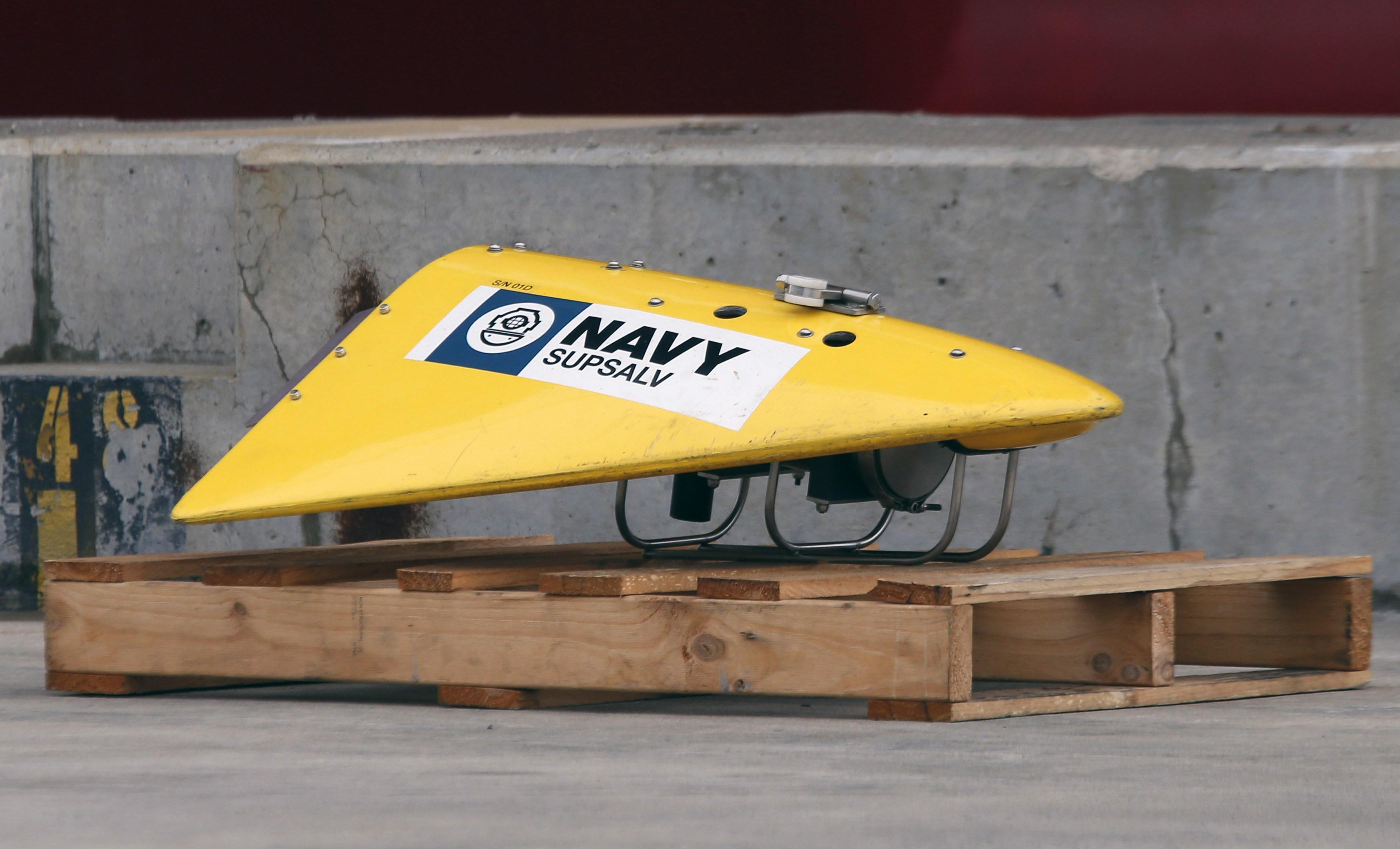 MH370 towed pinger locator March 30