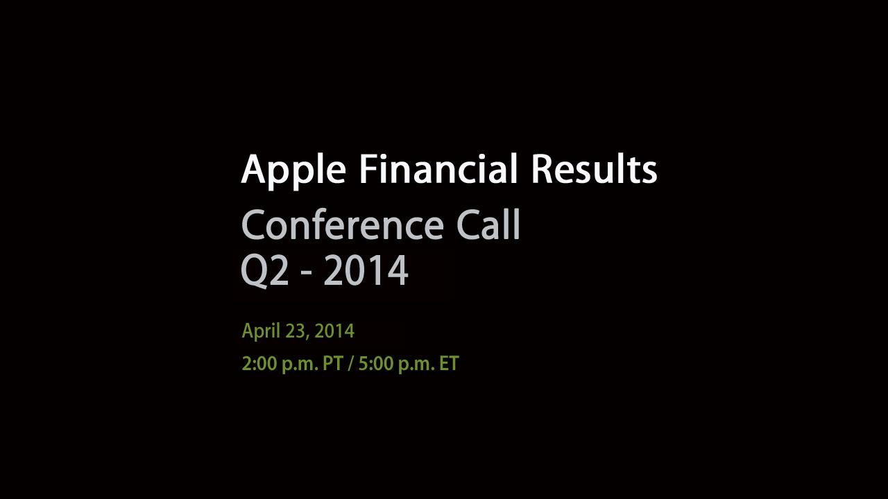 Apple-Q2earnings-call