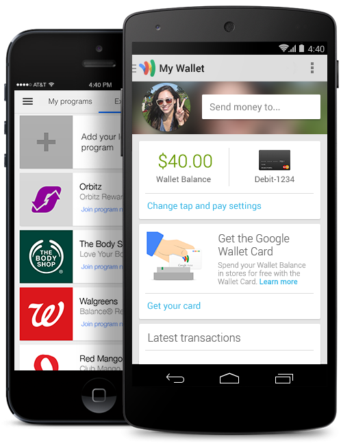 Google Wallet Payment Billpay