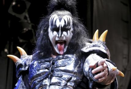 Gene Simmons Puts Ice Cubes in His Breakfast Cereal
