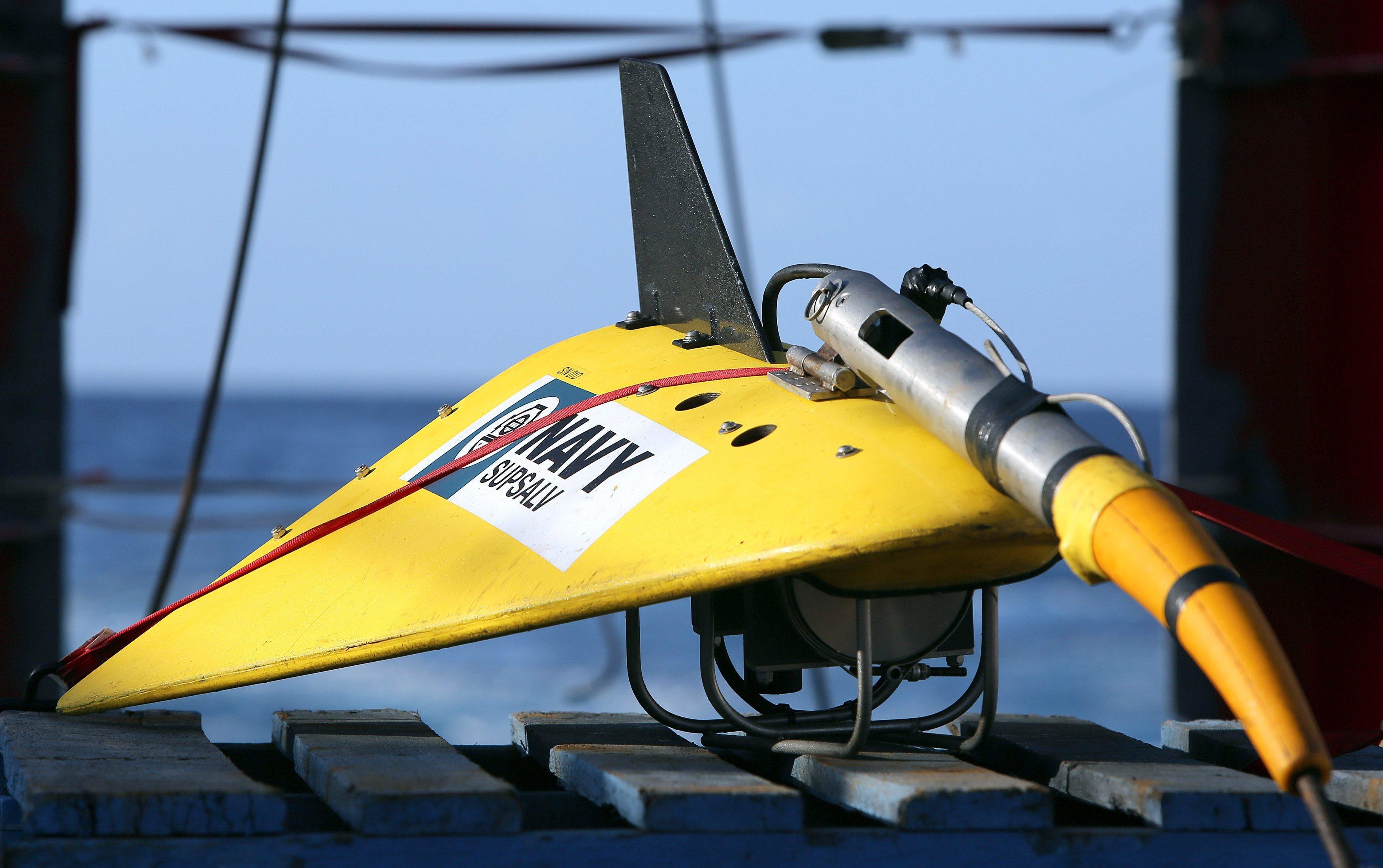 Flight MH370 Towed Pinger Locator