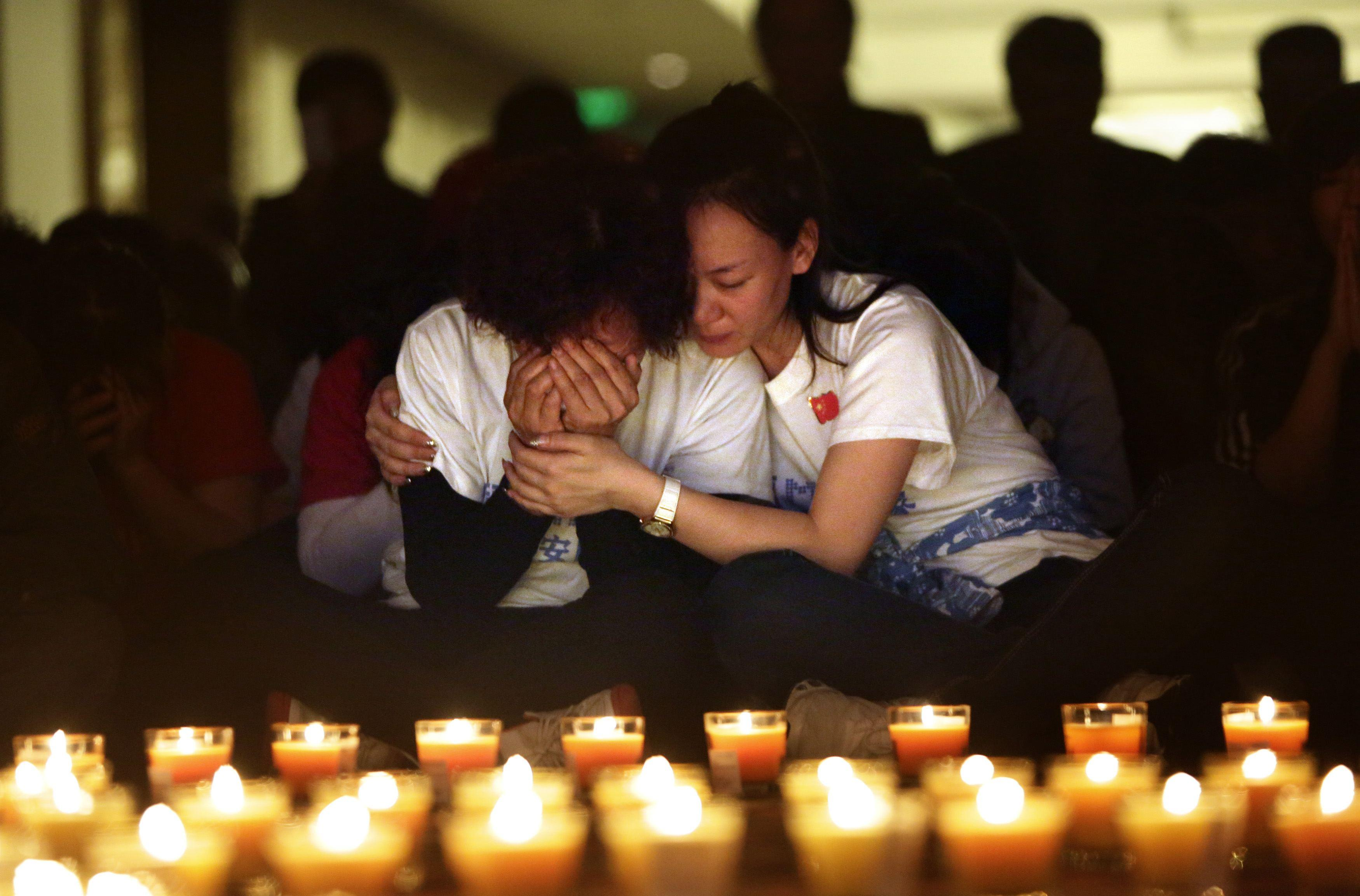 Flight MH370 Candlelight Vigil 3