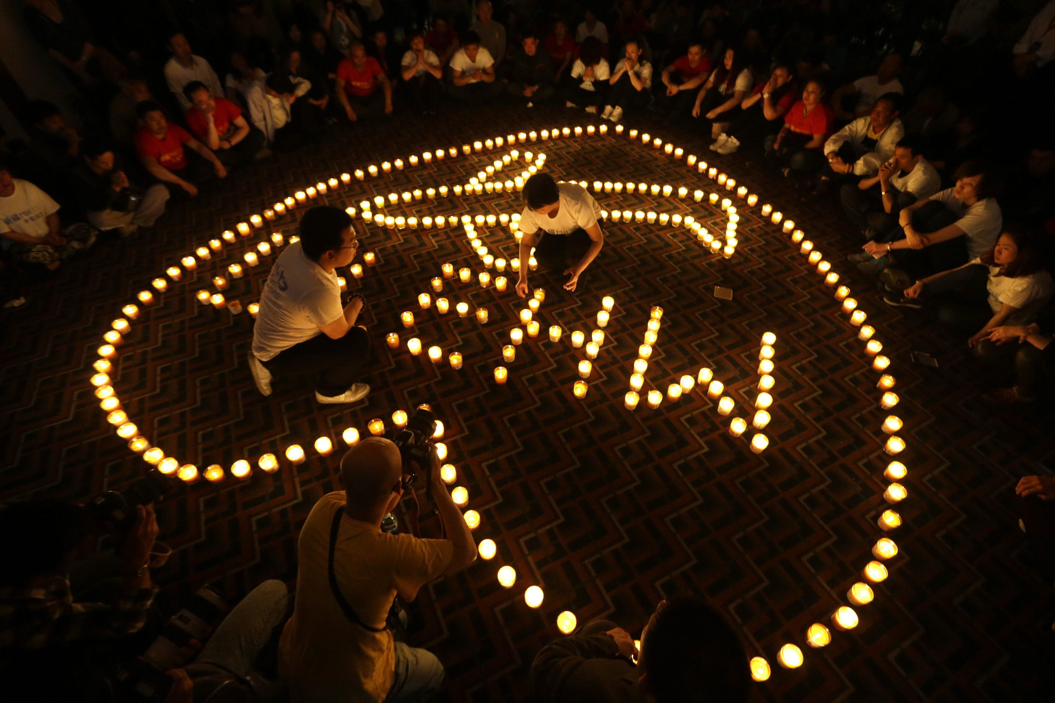 Flight MH370 Prayer vigil 3