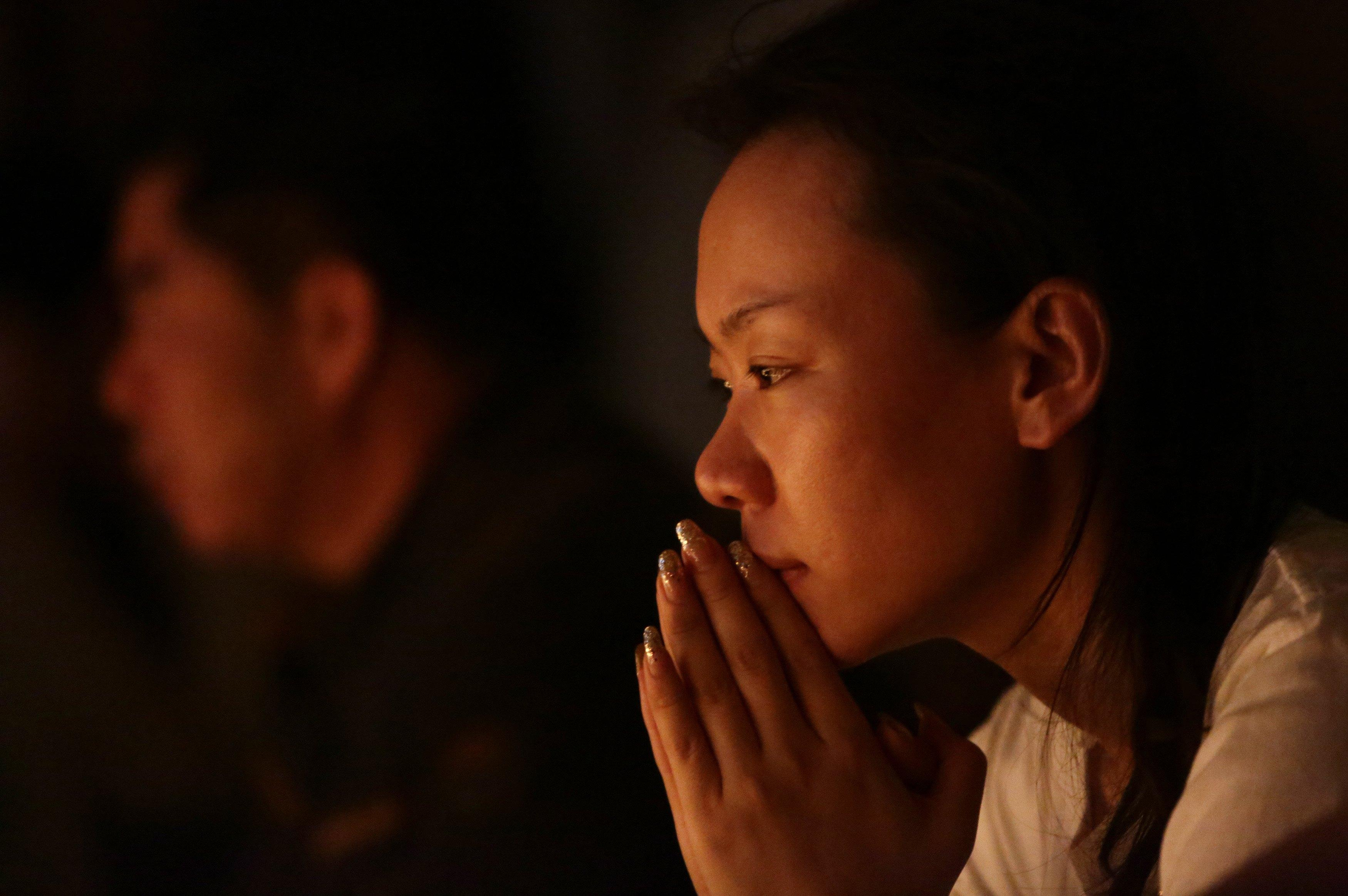 Flight MH370 Prayer vigil 4