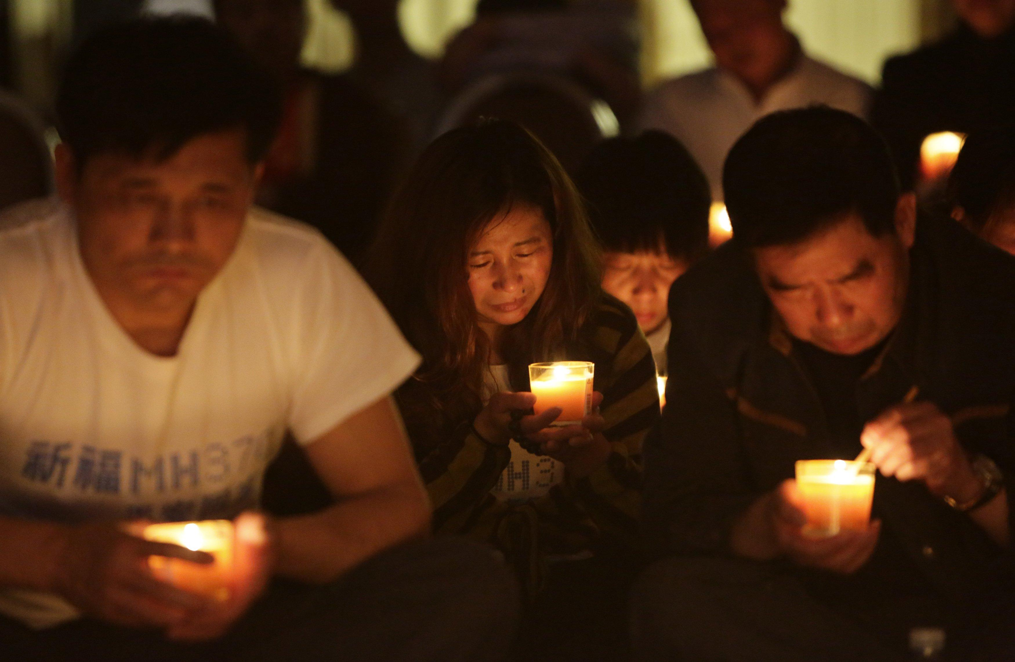 Flight MH370 Prayer vigil