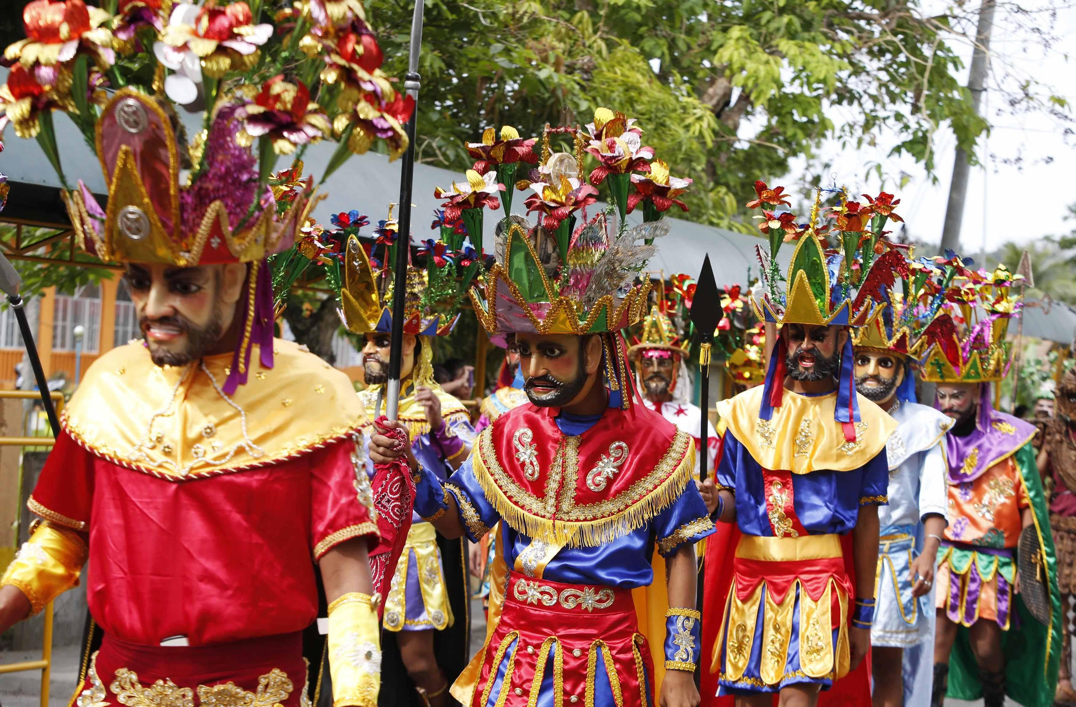 Holy Week - Palm Sunday Costumes Philippines