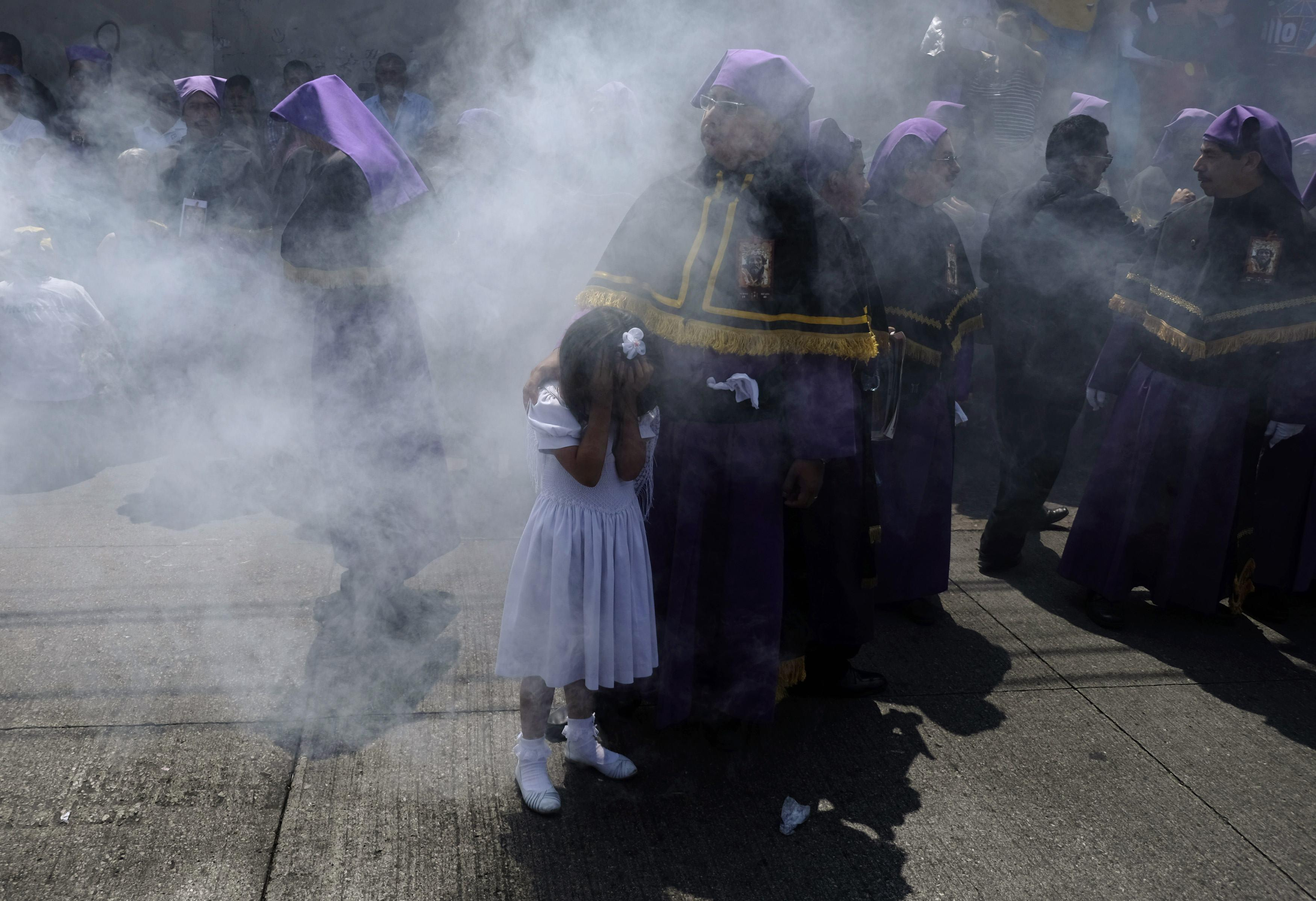 Holy Week - Palm Sunday Smoke Guatemala