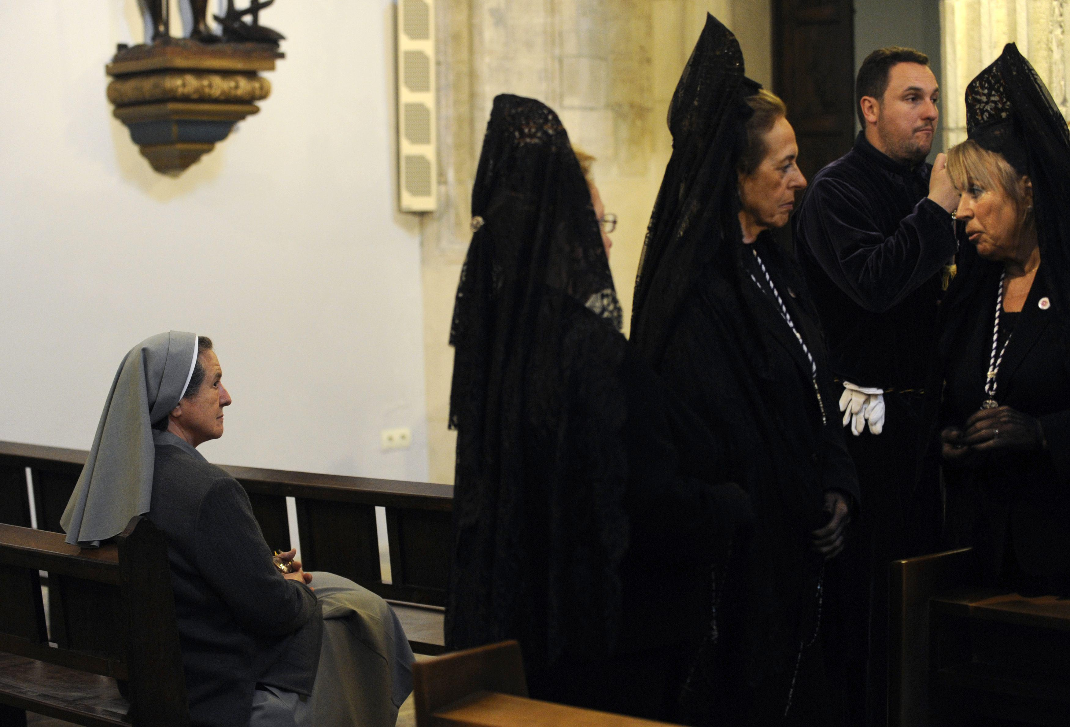 Holy Week - Penitent Nun Spain