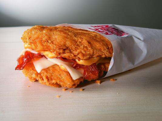 KFC Double Down's Triumphant Return