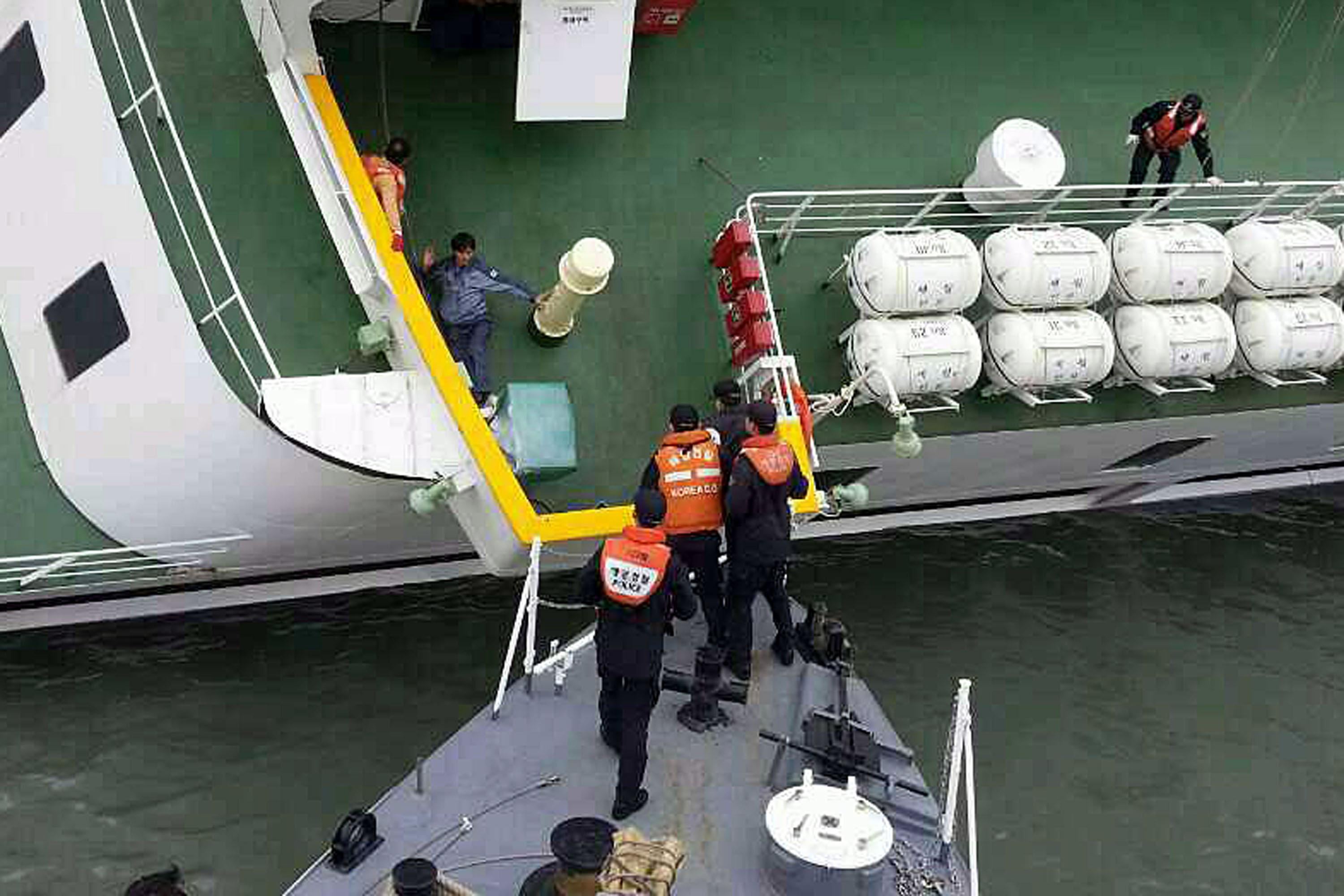 South Korea Ferry - Sewol Capsizing