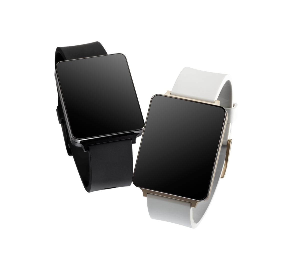 LG G Watch both