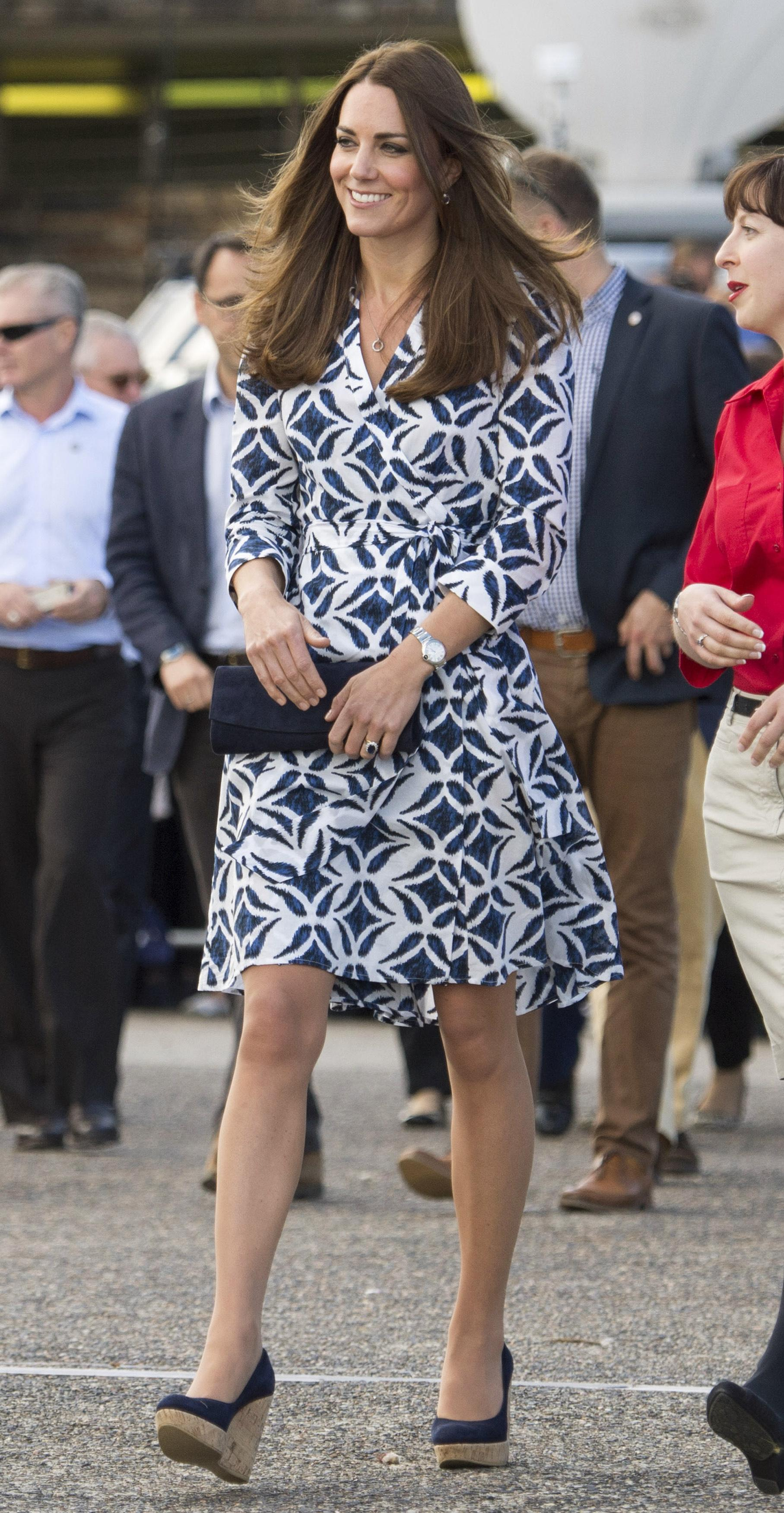 April 17 at Winmalee: Diane von Furstenberg dress