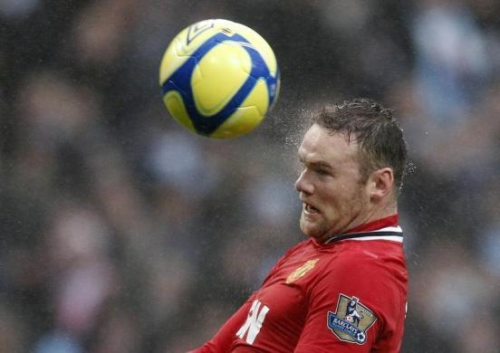 No. 7 Wayne Rooney, Manchester United