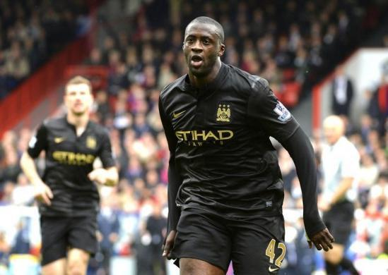 No. 9 Yaya Toure, Manchester City