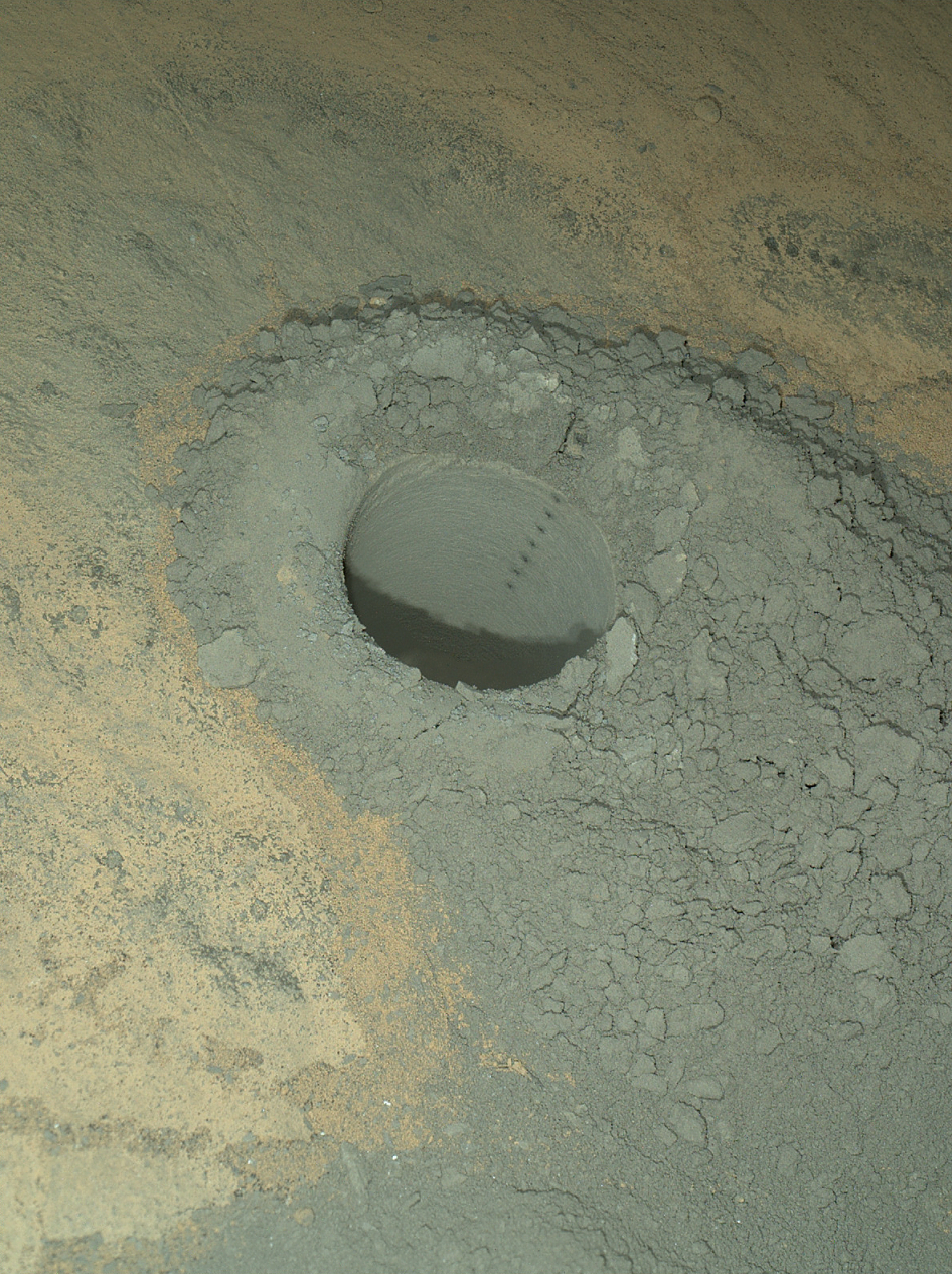 Curiosity Windjana Drilling