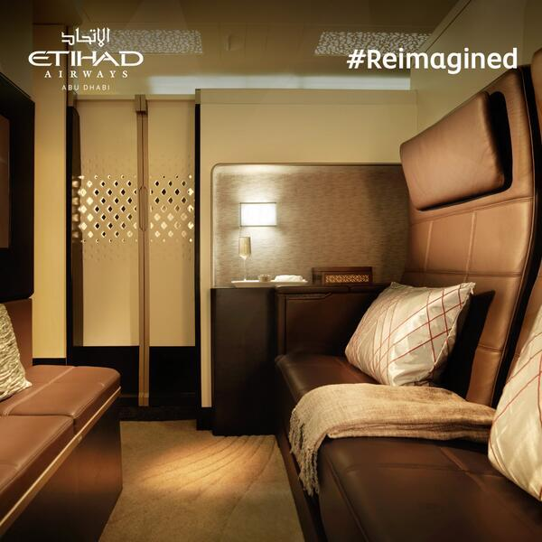 "Etihad Airway's ""The Residence"