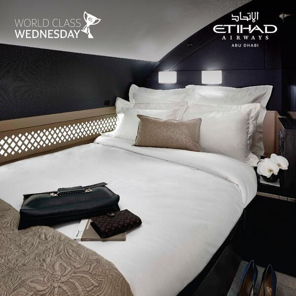 Etihad Airway's Suite