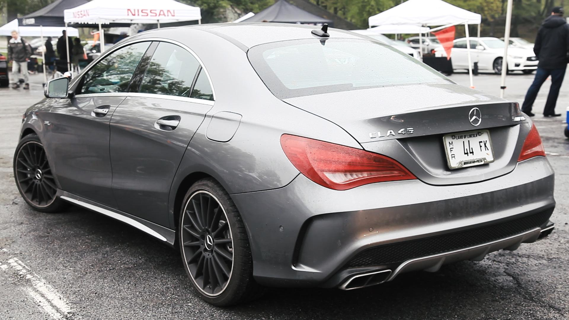 Mercedes CLA 45 AMG rear.