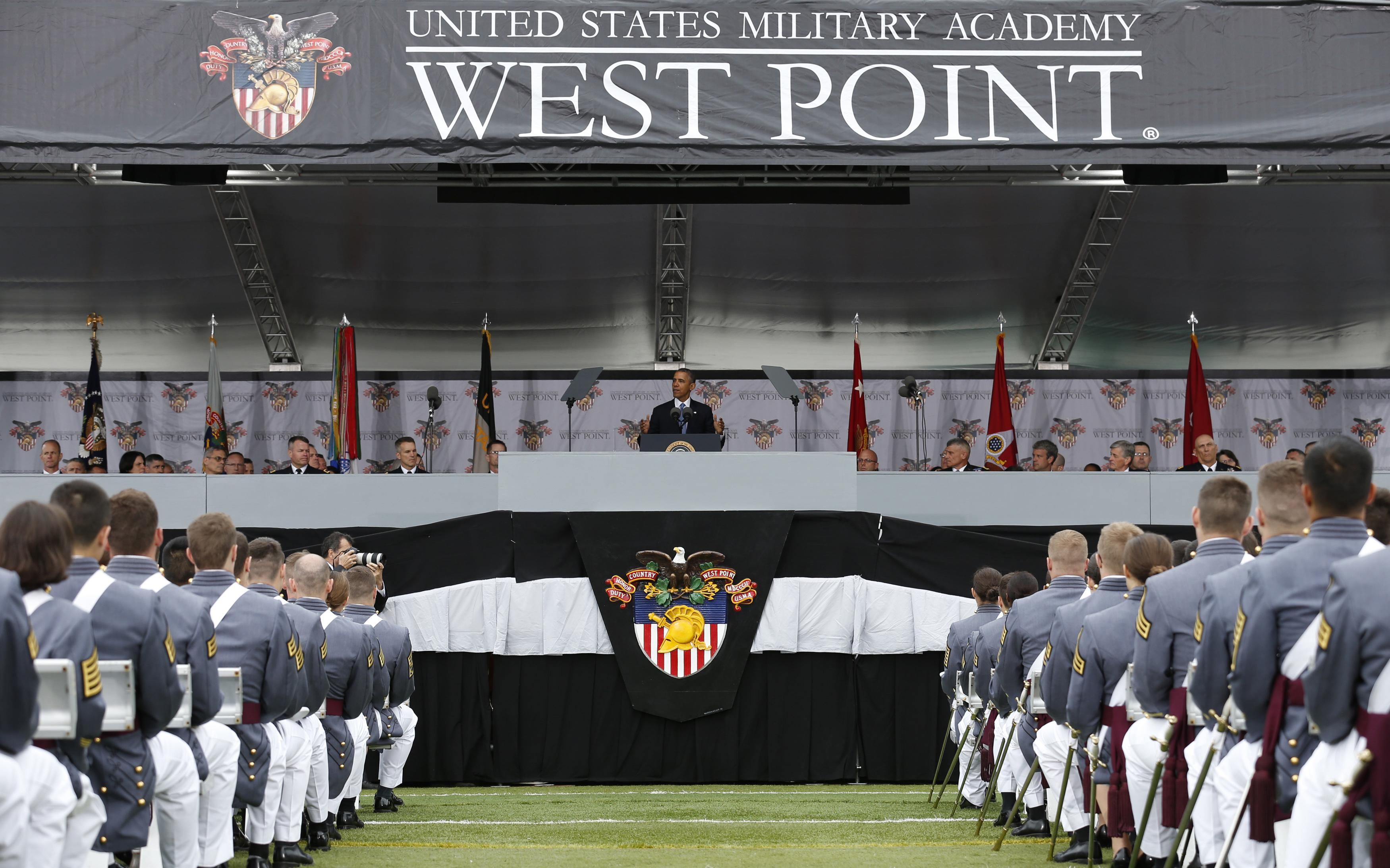 Obama addresses class of 2014 West Point