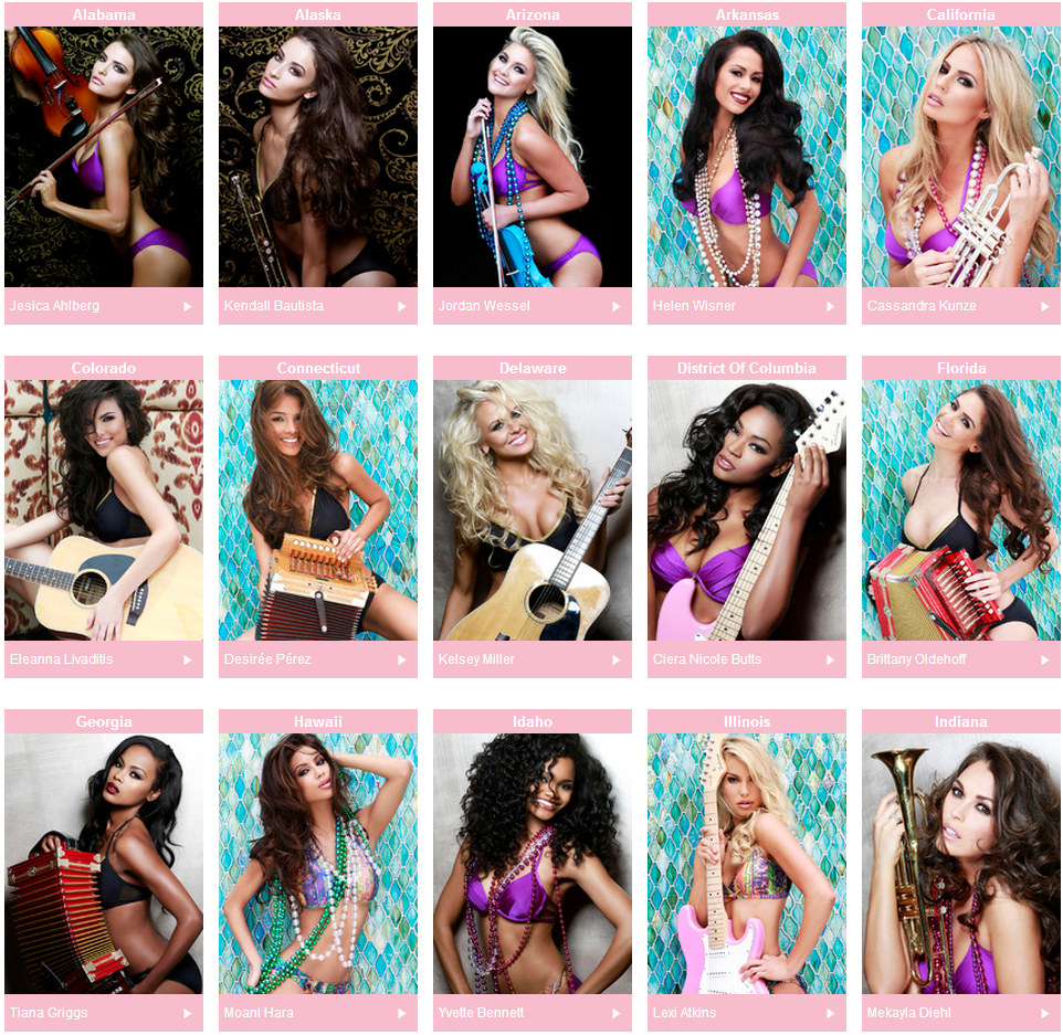 Miss USA 2014 Contestants