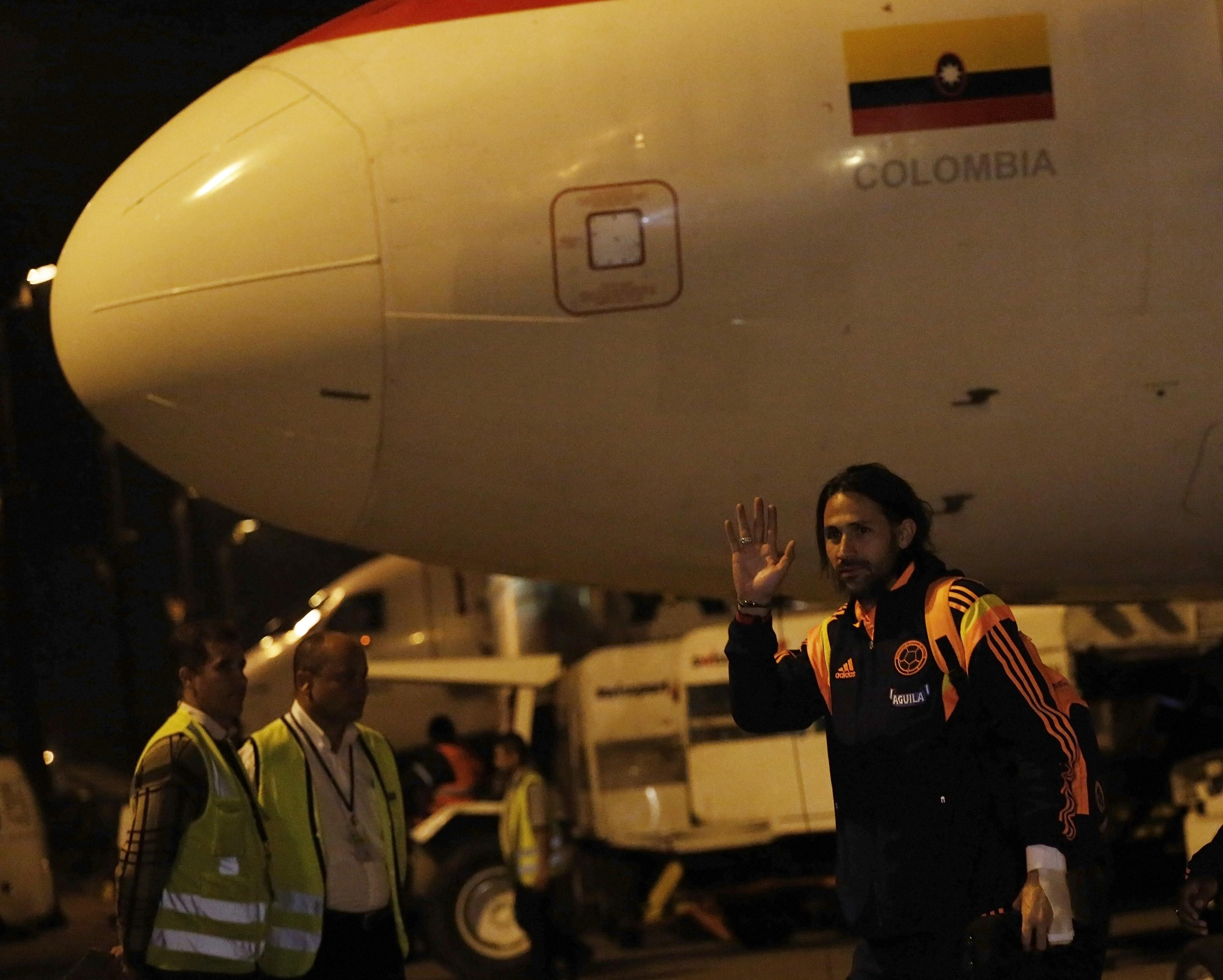 2014 World Cup - Colombia Arrival
